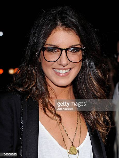 Actress Shenae Grimes arrives at the Los Angeles Premiere 127 Hours at AMPAS Samuel Goldwyn Theater on November 3 2010 in Beverly Hills California