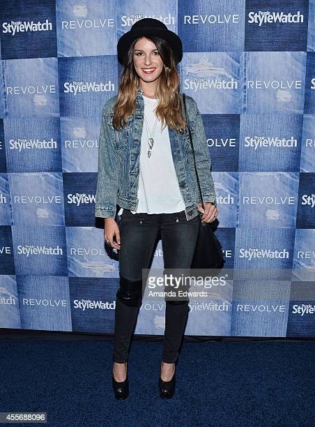 Actress Shenae Grimes arrives at the People StyleWatch 4th Annual Denim Awards Issue party at The Line on September 18, 2014 in Los Angeles,...