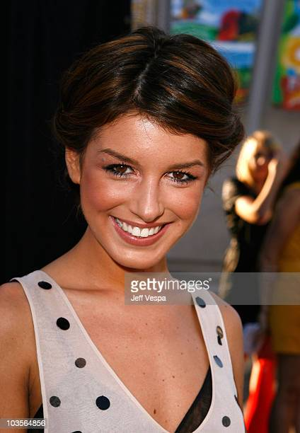 Actress Shenae Grimes arrives at Vogue's 1 year anniversary party for 3.1 Phillip Lim's LA store held at 3.1 Phillip Lim on July 15, 2009 in West...