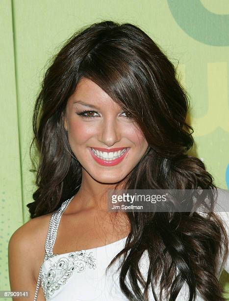 Actress Shenae Grimes attends the 2009 The CW Network UpFront at Madison Square Garden on May 21 2009 in New York City