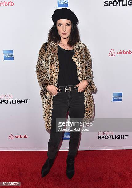 Actress Shenae Grimes attends the 3rd Annual Airbnb Open Spotlight at Various Locations on November 19 2016 in Los Angeles California