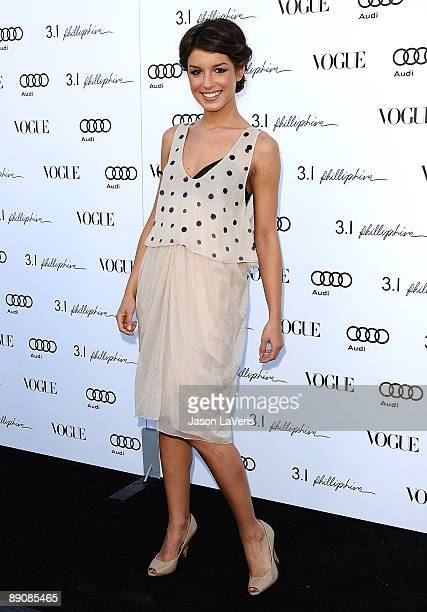 Actress Shenae Grimes attends the one year anniversary of the 3.1 Phillip Lim store on July 15, 2009 in West Hollywood, California.