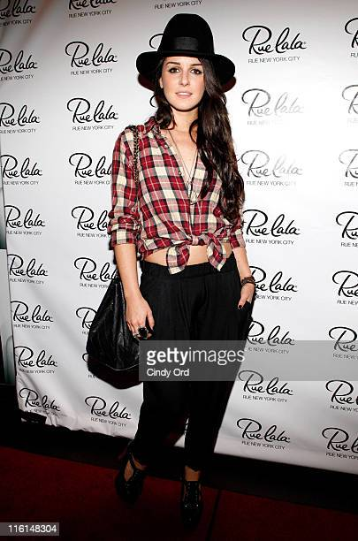 Actress Shenae Grimes attends the Rue New York City event at COOP Food Drink at Hotel Rivington on June 14 2011 in New York City