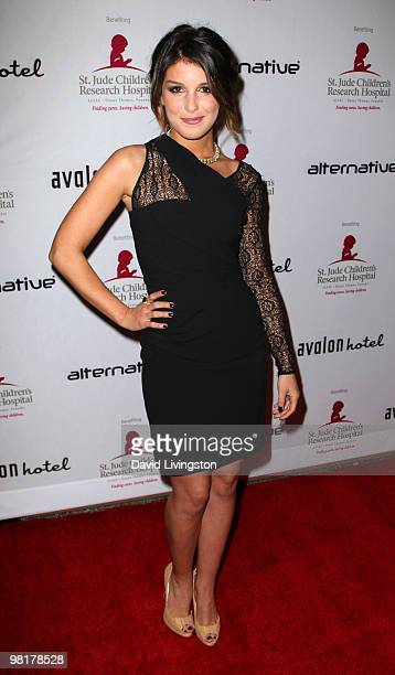 Actress Shenae Grimes attends the St Jude's Children's Research Hospital benefit hosted by her at the Avalon Hotel on March 31 2010 in Beverly Hills...