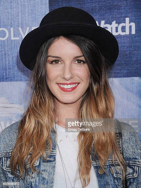 Actress Shenae Grimes-Beech arrives at the People StyleWatch 4th Annual Denim Awards Issue at The Line on September 18, 2014 in Los Angeles,...