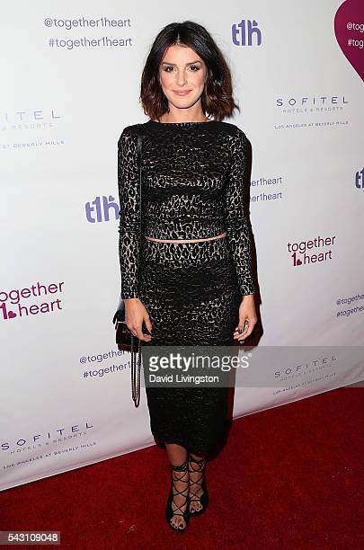 Actress Shenae GrimesBeech attends together1heart launch party hosted by AnnaLynne McCord at Sofitel Hotel on June 25 2016 in Los Angeles California