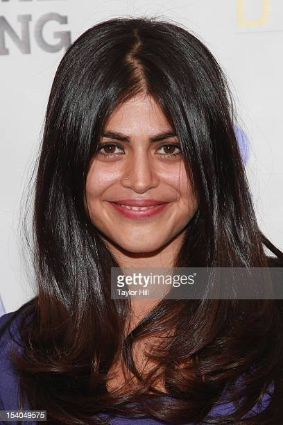 Actress Shenaz Treasury attends the 'Excuse Me For Living' New York Premiere at AMC Lowes Villiage on October 12 2012 in New York City