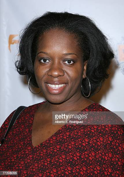 Actress Shenita Moore arrives at the Runway Magazine launch party held at Area nightclub on October 5 2007 in West Hollywood California