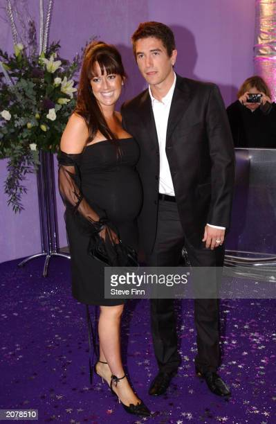 Actress Sheree Murphy and Soccer star Harry Kewell at the British Soap Awards 2003 held at BBC Television Centre on May 10 London, England. This is...