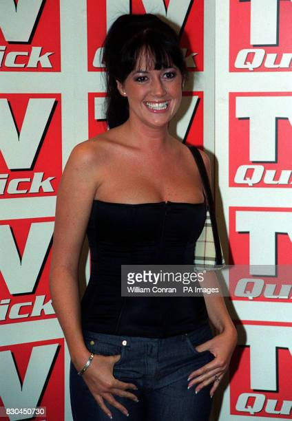 Actress Sheree Murphy who plays Trisha Stokes in the ITV soap Emmerdale at the TV Quick Awards held at the Dorchester Hotel in central London
