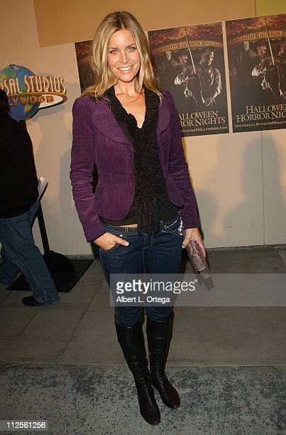 Actress Sheri Moon Zoombie of Halloween arrives for the 5th Annual Eyegore Awards Scaremony held at Universal Studios in Universal City California