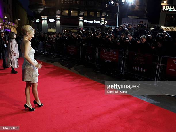 Actress Sheridan Smith attends the Premiere of 'Quartet' during the 56th BFI London Film Festival at Odeon Leicester Square on October 15 2012 in...