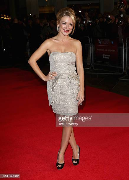 Actress Sheridan Smith attends the Quartet premiere during the 56th BFI London Film Festival at the Odeon Leicester Square on October 15 2012 in...