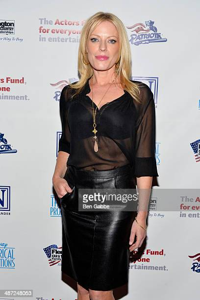 Actress Sherie Rene Scott attends the after party for The Actors Fund Gala Celebrating 20 Years Of Disney On Broadway at The New York Marriott...