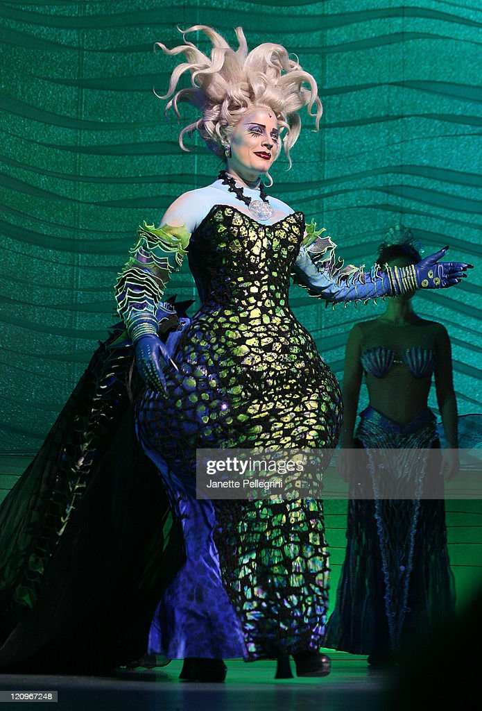"""""""The Little Mermaid"""" Broadway Opening Night - Curtain Call"""