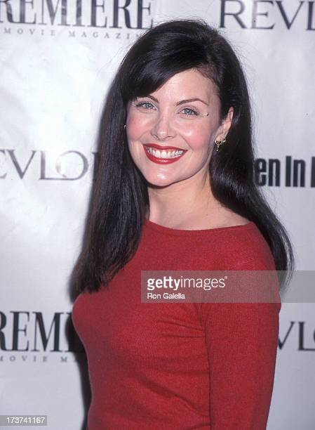 Actress Sherilyn Fenn attends the Sixth Annual Premiere Women in Hollywood Luncheon on November 16 1999 at the Four Seasons Hotel in Beverly Hills...