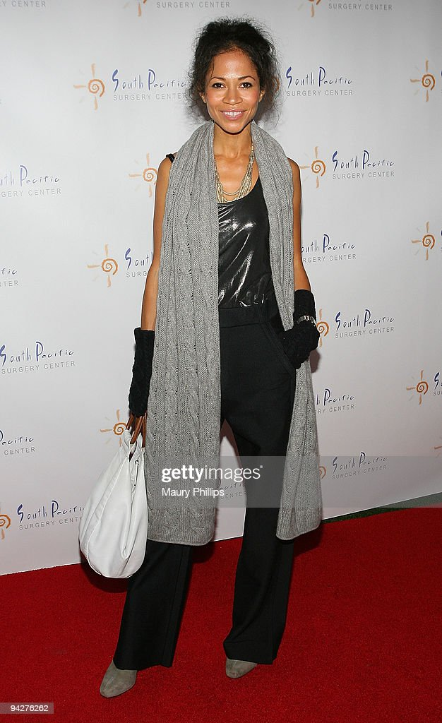 Actress Sherri Saum arrives at Simine Hashemizdeh's Holiday Red Carpet Event To Benefit M Benga Foundation on December 10, 2009 in Hollywood, California.