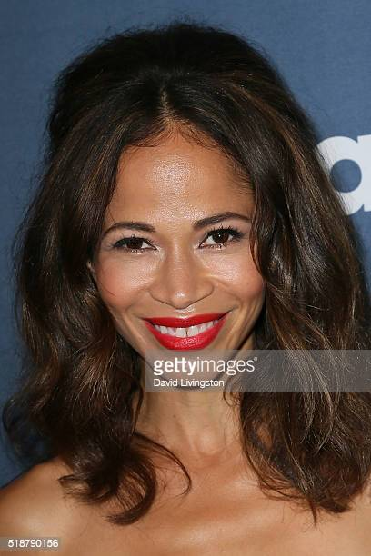 Actress Sherri Saum arrives at the 27th Annual GLAAD Media Awards at The Beverly Hilton Hotel on April 2 2016 in Beverly Hills California