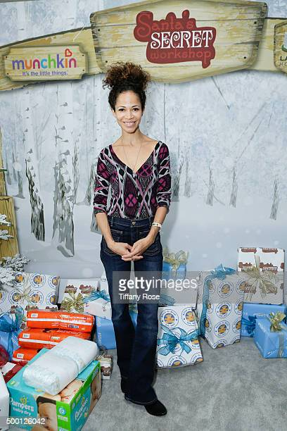 Actress Sherri Saum attends at 2015 Santa's Secret Workshop Benefiting LA Family Housing at Andaz Hotel on December 5 2015 in Los Angeles California