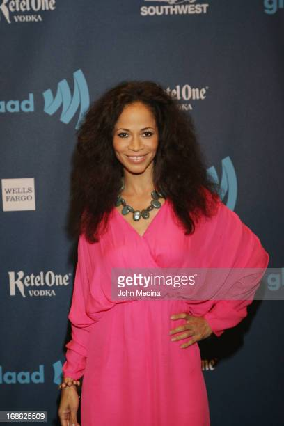 Actress Sherri Saum attends the 24th Annual GLAAD Media Awards at the Hilton San Francisco Union Square on May 11 2013 in San Francisco California
