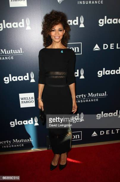 Actress Sherri Saum attends the 28th Annual GLAAD Media Awards at The Beverly Hilton Hotel on April 1 2017 in Beverly Hills California