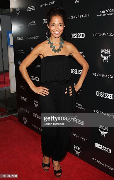 """Actress Sherri Saum attends the Cinema Society and MCM screening of """"Obsessed"""" at the School of Visual Arts on April 23, 2009 in New York City."""