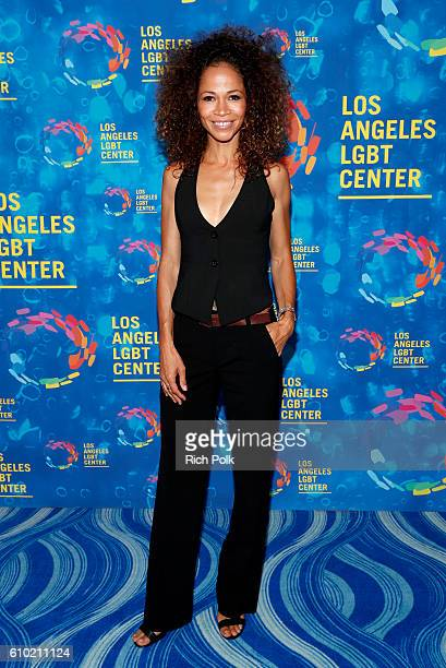 Actress Sherri Saum attends the Los Angeles LGBT Center 47th Anniversary Gala Vanguard Awards at Pacific Design Center on September 24 2016 in West...