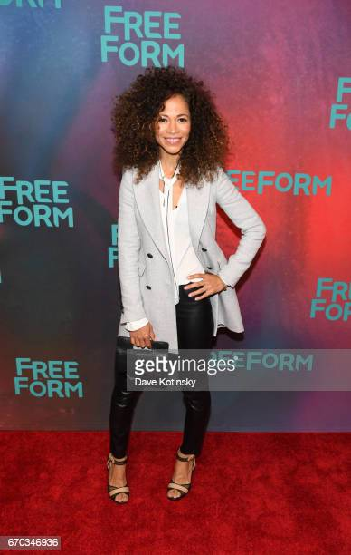 Actress Sherri Saum of 'The Fosters' attends Freeform 2017 Upfront at Hudson Mercantile on April 19 2017 in New York City