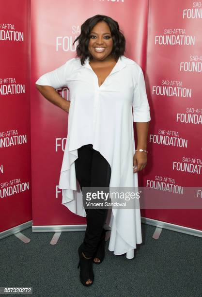Actress Sherri Shepherd attends SAGAFTRA Foundation Conversations with Claws at SAGAFTRA Foundation Screening Room on October 3 2017 in Los Angeles...