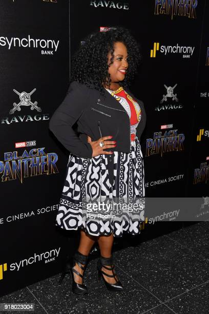 Actress Sherri Shepherd attends the screening of Marvel Studios' 'Black Panther' hosted by The Cinema Society on February 13 2018 in New York City