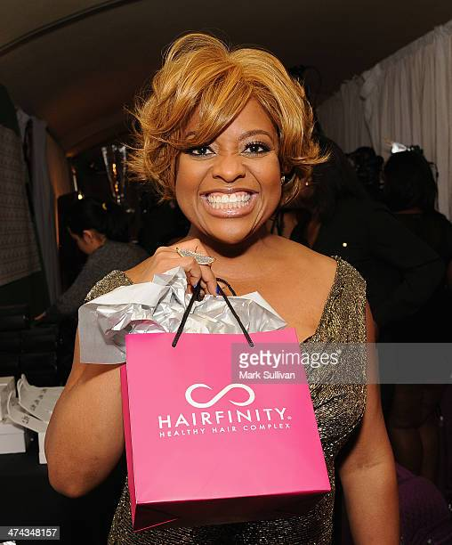 Actress Sherri Shepherd in Backstage Creations Retreat At The 45th NAACP Image Awards on February 22 2014 in Pasadena California