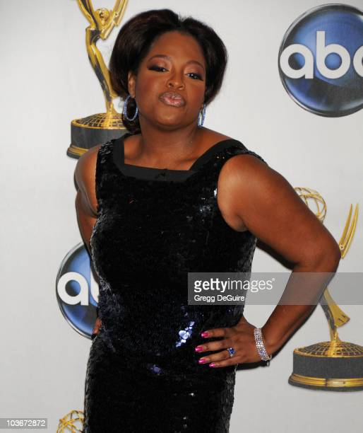 Actress Sherri Shepherd in the press room at the 35th Annual Daytime Emmy Awards at the Kodak Theatre on June 20 2008 in Los Angeles California