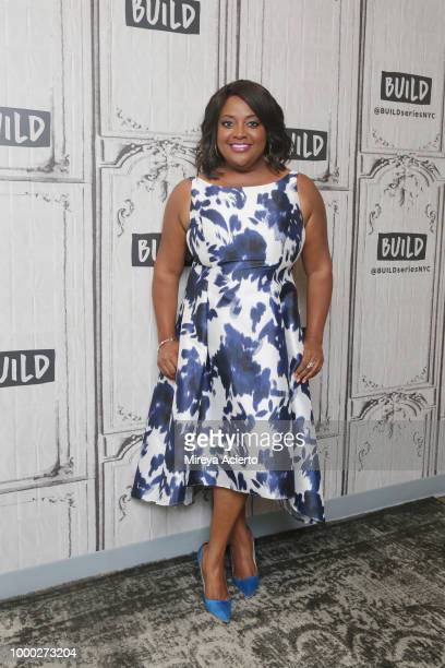 Actress Sherri Shepherd visits BUILD to discuss the television show 'Trial Error Lady Killer' at Build Studio on July 16 2018 in New York City