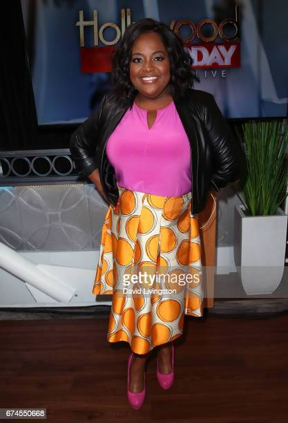 Actress Sherri Shepherd visits Hollywood Today Live at W Hollywood on April 28 2017 in Hollywood California