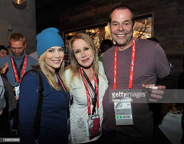 Actress Sherrie Rose writer Elana Krausz and producer Beau Genot attend the Film Independent Sundance Reception at Riverhorse Cafe during the 2013...