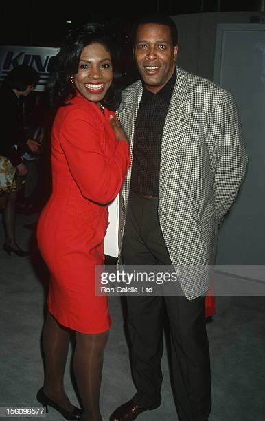 Actress Sheryl Lee Ralph and actor Meshach Taylor attending 'NAPTE Convention' on January 27 1993 at Moscone Convention Center in San Francisco...