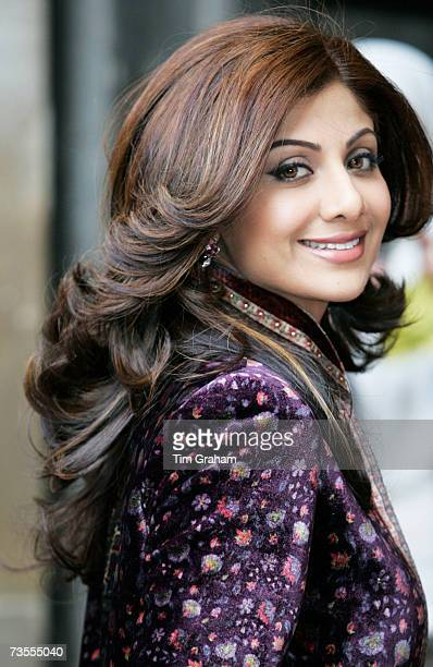 Actress Shilpa Shetty attends the Commonwealth Day service at Westminster Abbey on March 12 2007 in London England