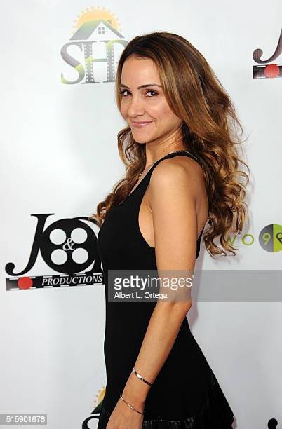 Actress Shira Scott Astrof arrives for the Premiere Of JR Productions' Halloweed held at TCL Chinese 6 Theatres on March 15 2016 in Hollywood...