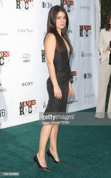 Actress Shiri Appleby arrives at Conde Nast Media Group's 2007 Movies Rock at the Kodak Theatre on December 2 2007 in Hollywood California