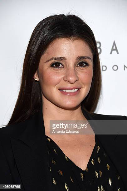 Actress Shiri Appleby arrives at the 13th Annual Lupus LA Hollywood Bag Ladies Luncheon at The Beverly Hilton Hotel on November 20 2015 in Beverly...
