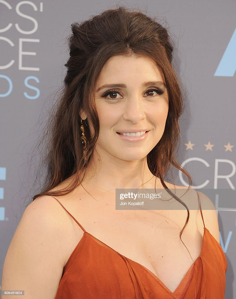 Actress Shiri Appleby arrives at The 21st Annual Critics' Choice Awards at Barker Hangar on January 17, 2016 in Santa Monica, California.
