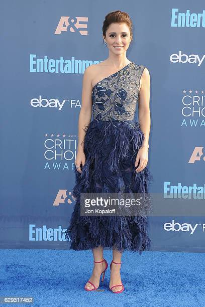 Actress Shiri Appleby arrives at The 22nd Annual Critics' Choice Awards at Barker Hangar on December 11 2016 in Santa Monica California