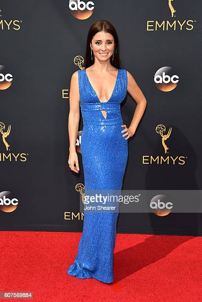 Actress Shiri Appleby arrives at the 68th Annual Primetime Emmy Awards at Microsoft Theater on September 18 2016 in Los Angeles California