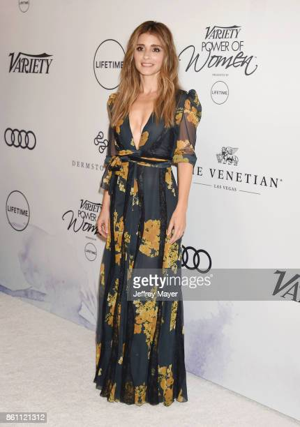 Actress Shiri Appleby arrives at the Variety's Power Of Women Los Angeles at the Beverly Wilshire Four Seasons Hotel on October 13 2017 in Beverly...