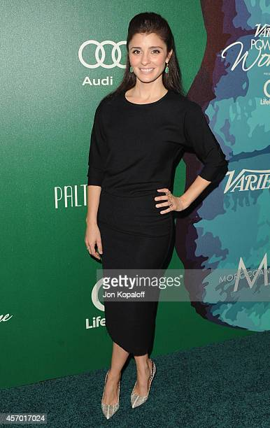 Actress Shiri Appleby arrives at Variety's 2014 Power Of Women Event In LA Presented By Lifetime at the Beverly Wilshire Four Seasons Hotel on...