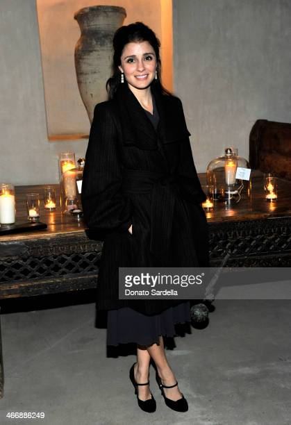 Actress Shiri Appleby attends a cocktail party to celebrate the debut fragrance by Irene Neuwirth hosted by Barneys New York on February 4 2014 in...