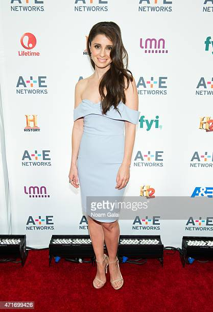 Actress Shiri Appleby attends the 2015 A+E Network Upfront at Park Avenue Armory on April 30, 2015 in New York City.