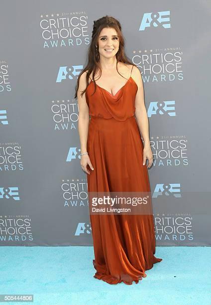 Actress Shiri Appleby attends The 21st Annual Critics' Choice Awards at Barker Hangar on January 17 2016 in Santa Monica California