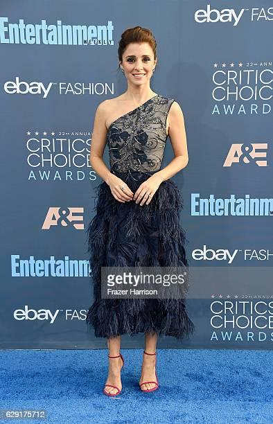 Actress Shiri Appleby attends The 22nd Annual Critics' Choice Awards at Barker Hangar on December 11 2016 in Santa Monica California