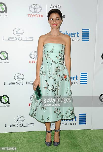 Actress Shiri Appleby attends the 26th annual EMA Awards at Warner Bros Studios on October 22 2016 in Burbank California